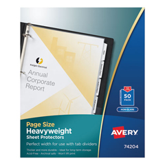 AVE74204 - Avery® Top Loading Standard Weight Sheet Protector