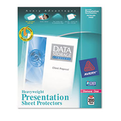 AVE74400 - Avery® Diamond Clear Easy Load Sheet Protector