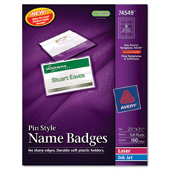 AVE74549 - Avery® Pin Style Name Badges