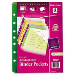 AVE75307 - Avery® Small Binder Pockets