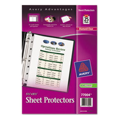 AVE77004 - Avery® Top-Loading Mini Sheet Protector
