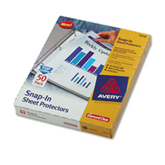 AVE78706 - Avery® Special-Use Snap-In Sheet Protector
