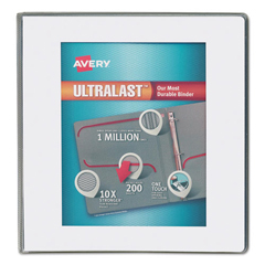 AVE79714 - Avery® UltraLast™ Heavy-Duty View Binder with One Touch Slant Rings