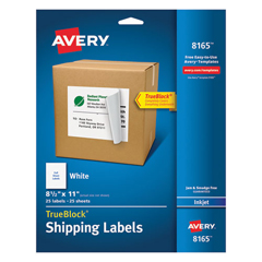 AVE8165 - Avery® Shipping Labels with TrueBlock™ Technology