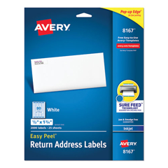 AVE8167 - Avery® Easy Peel® Return Address Labels