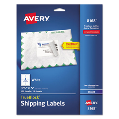 AVE8168 - Avery® Shipping Labels with TrueBlock™ Technology