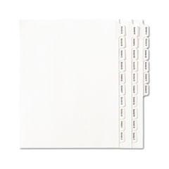 AVE82105 - Avery® Collated Legal Dividers Allstate® Style Side Tab