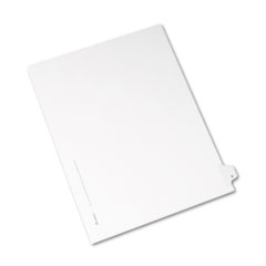 AVE82164 - Avery® Collated Legal Dividers Allstate® Style Side Tab