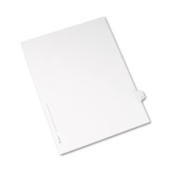 AVE82168 - Avery® Collated Legal Dividers Allstate® Style Side Tab