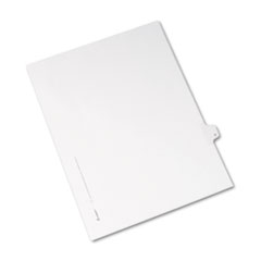 AVE82170 - Avery® Collated Legal Dividers Allstate® Style Side Tab
