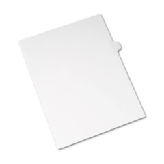AVE82171 - Avery® Collated Legal Dividers Allstate® Style Side Tab