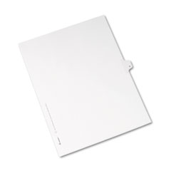 AVE82176 - Avery® Collated Legal Dividers Allstate® Style Side Tab