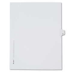 AVE82177 - Avery® Collated Legal Dividers Allstate® Style Side Tab
