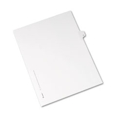 AVE82180 - Avery® Collated Legal Dividers Allstate® Style Side Tab