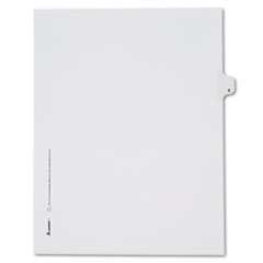 AVE82181 - Avery® Collated Legal Dividers Allstate® Style Side Tab
