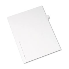 AVE82182 - Avery® Collated Legal Dividers Allstate® Style Side Tab
