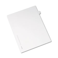 AVE82184 - Avery® Collated Legal Dividers Allstate® Style Side Tab