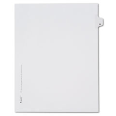 AVE82185 - Avery® Collated Legal Dividers Allstate® Style Side Tab