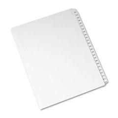 AVE82193 - Avery® Collated Legal Dividers Allstate® Style Side Tab