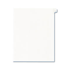 AVE82199 - Avery® Collated Legal Dividers Allstate® Style Side Tab