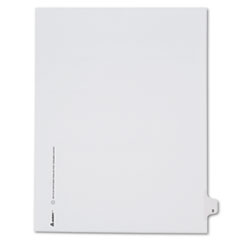 AVE82201 - Avery® Collated Legal Dividers Allstate® Style Side Tab