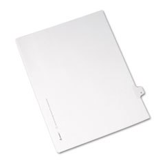 AVE82204 - Avery® Collated Legal Dividers Allstate® Style Side Tab