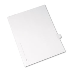 AVE82206 - Avery® Collated Legal Dividers Allstate® Style Side Tab