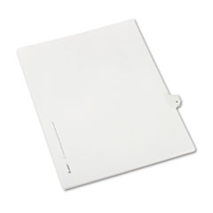 AVE82207 - Avery® Collated Legal Dividers Allstate® Style Side Tab