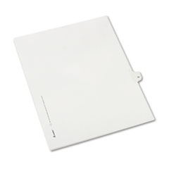 AVE82208 - Avery® Collated Legal Dividers Allstate® Style Side Tab