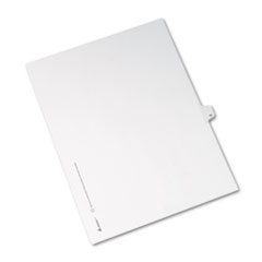 AVE82209 - Avery® Collated Legal Dividers Allstate® Style Side Tab