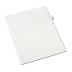 AVE82217 - Avery® Collated Legal Dividers Allstate® Style Side Tab