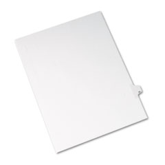 AVE82218 - Avery® Collated Legal Dividers Allstate® Style Side Tab