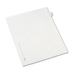 AVE82220 - Avery® Collated Legal Dividers Allstate® Style Side Tab
