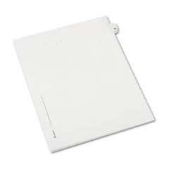 AVE82221 - Avery® Collated Legal Dividers Allstate® Style Side Tab