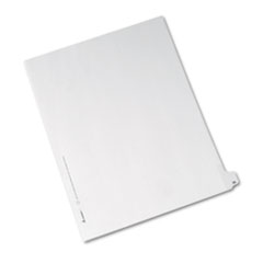 AVE82224 - Avery® Collated Legal Dividers Allstate® Style Side Tab