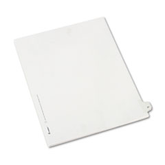 AVE82225 - Avery® Collated Legal Dividers Allstate® Style Side Tab