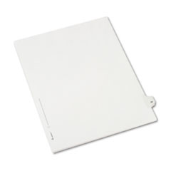 AVE82227 - Avery® Collated Legal Dividers Allstate® Style Side Tab