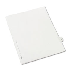AVE82229 - Avery® Collated Legal Dividers Allstate® Style Side Tab