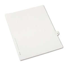 AVE82231 - Avery® Collated Legal Dividers Allstate® Style Side Tab