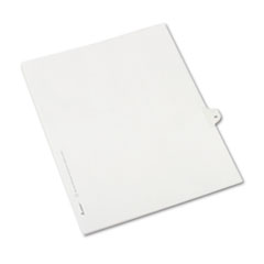 AVE82233 - Avery® Collated Legal Dividers Allstate® Style Side Tab