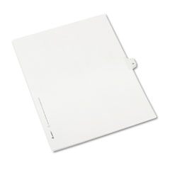 AVE82236 - Avery® Collated Legal Dividers Allstate® Style Side Tab