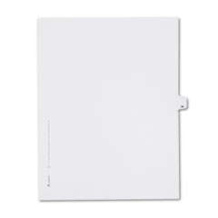 AVE82237 - Avery® Collated Legal Dividers Allstate® Style Side Tab