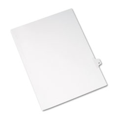 AVE82242 - Avery® Collated Legal Dividers Allstate® Style Side Tab