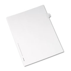 AVE82243 - Avery® Collated Legal Dividers Allstate® Style Side Tab