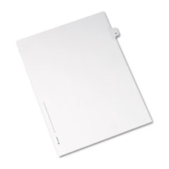 AVE82244 - Avery® Collated Legal Dividers Allstate® Style Side Tab