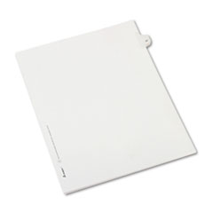 AVE82245 - Avery® Collated Legal Dividers Allstate® Style Side Tab