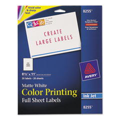 AVE8255 - Avery® Mailing Labels
