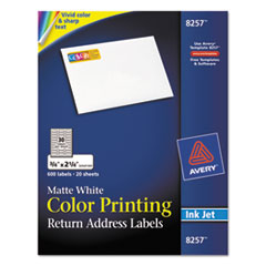 AVE8257 - Avery® Mailing Labels