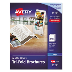 AVE8324 - Avery® Tri-Fold Brochure Paper