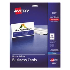 AVE8371 - Avery® Business Cards